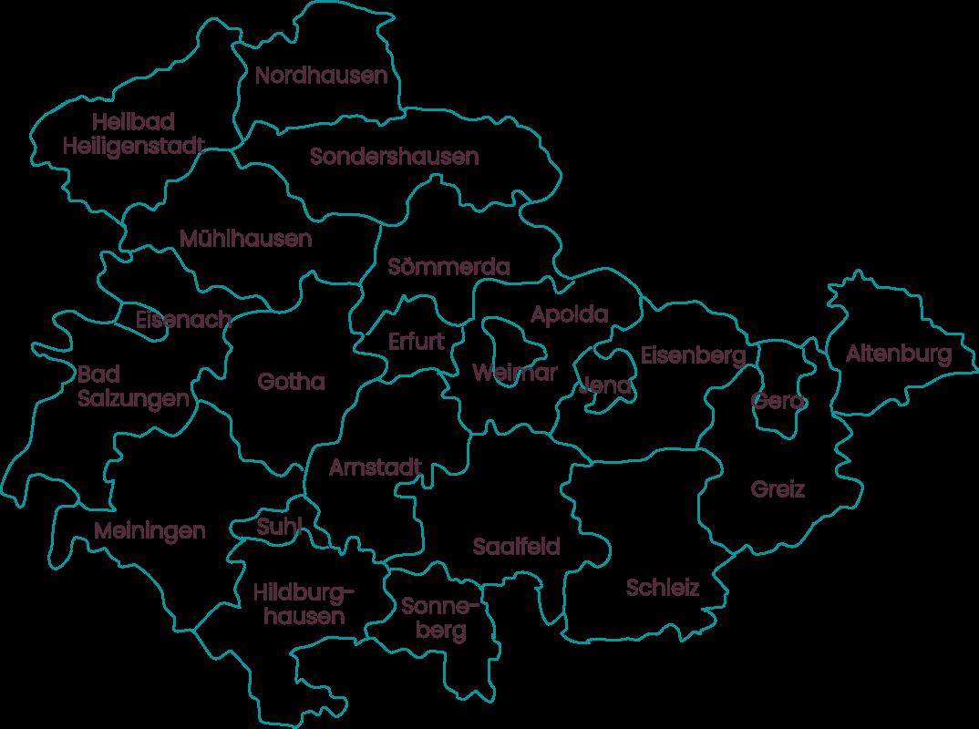 Landkreise & Kreisfreie Städte