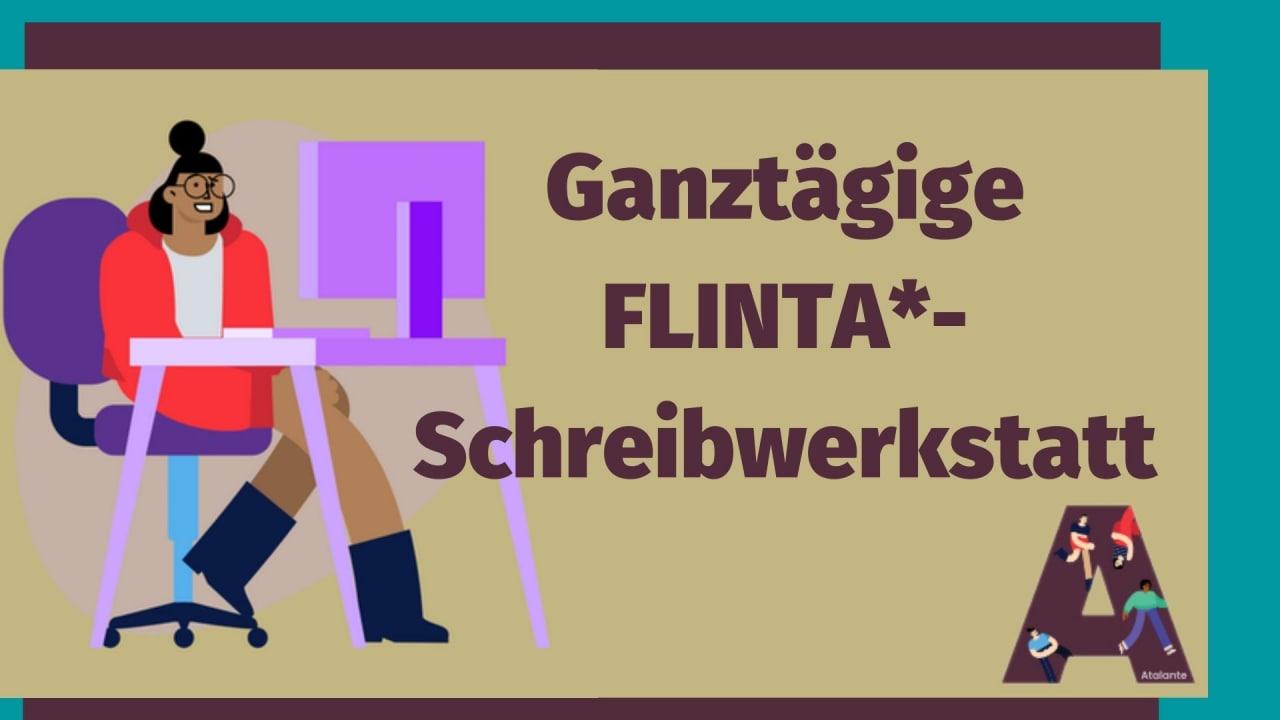 Header FLINTA Schreibwerkstatt